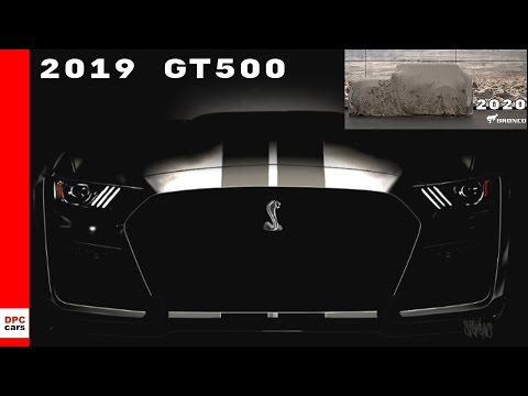Ford Mustang Shelby GT &  Ford Bronco Teased With Ford Current Vehicles