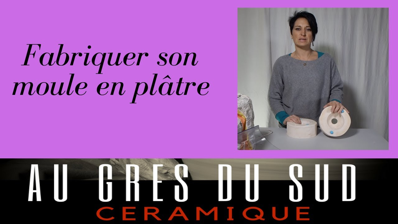 poterie fabriquer un moule simple en platre youtube