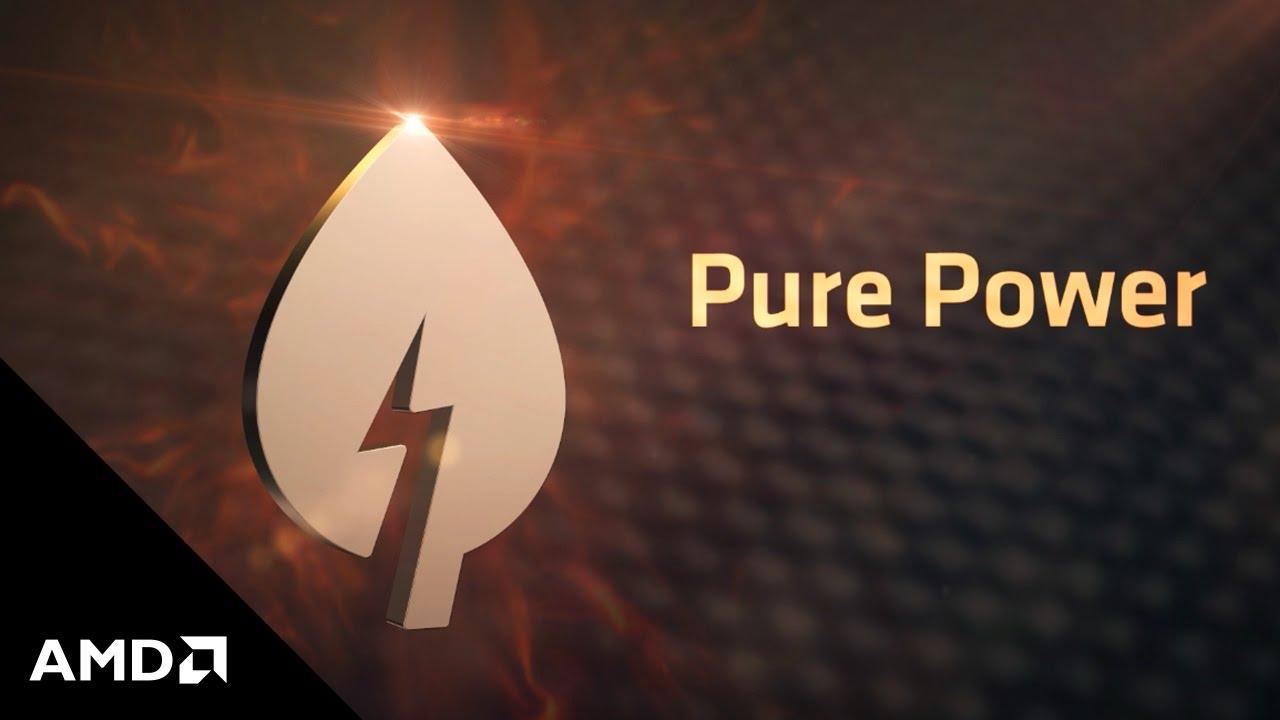 amd sensemi technology pure power youtube