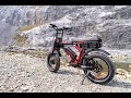 Ariel Rider Ebikes   Grizzly 52v Dual Motor, Dual Battery, Dual Suspension