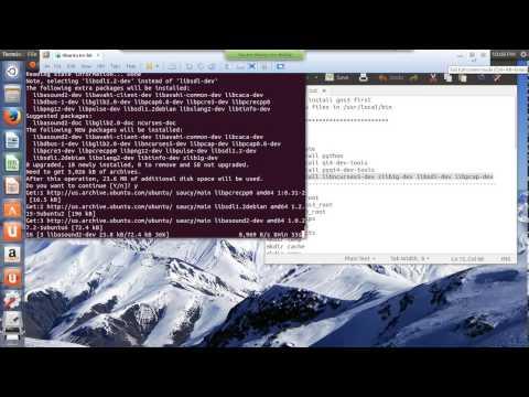 linux 017 real life senario making asa on gns3 Ubuntu
