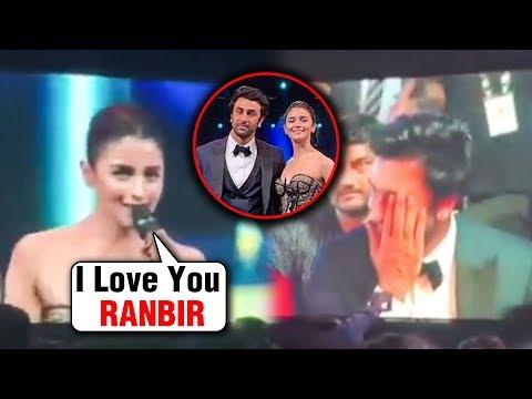 Alia Bhatt PROPOSES Ranbir Kapoor In PUBLIC | CONFIRMS Her Relationship | Filmfare 2019