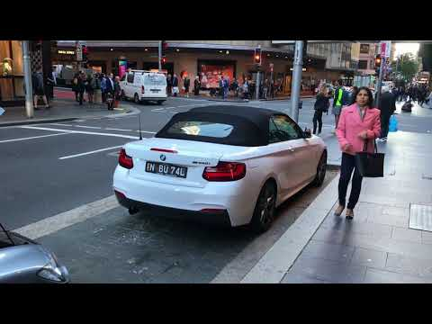 POSTCARD FROM SYDNEY AUSTRALIA - SYDNEY IS A NASTY PLACE - How To Get Free Parking In The City?