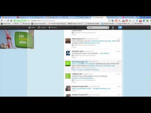 twitter  jobcentre leads