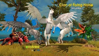 Clan of Pegasus - Flying Horse Android Gameplay