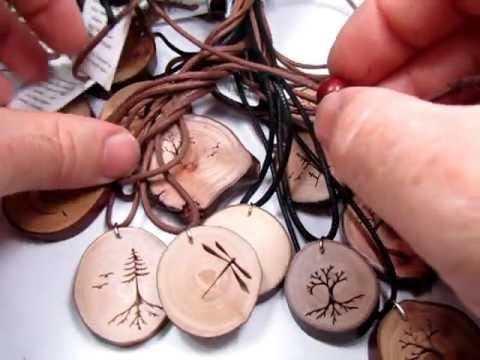 Rustic wood pendants from heartwoodgifts youtube rustic wood pendants from heartwoodgifts aloadofball Image collections