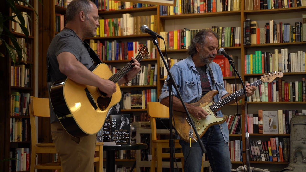 Alan Paul & Andy Aledort - Cold Shot - The Book Revue - Texas Flood Book Premier