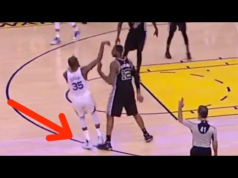 LaMarcus Aldridge COPIES Zaza Pachulia's Closeout Move Against Kevin Durant