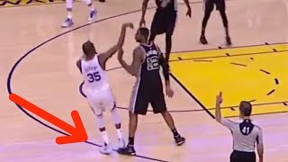 LaMarcus Aldridge COPIES Zaza Pachulia's Closeout Move Against Kevin Durant