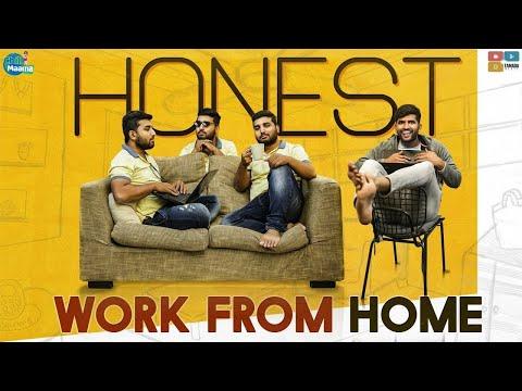 Honest Work From Home | Chill Maama || Tamada Media