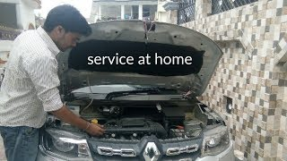 check before long drive  service at home monthly, car serviceing