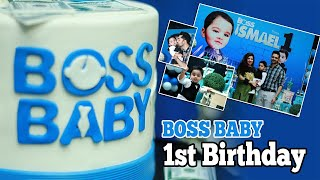 How to plan Boss Baby 1st Birthday Party for boy in Pakistan   DIY 1st Birthday For Boys