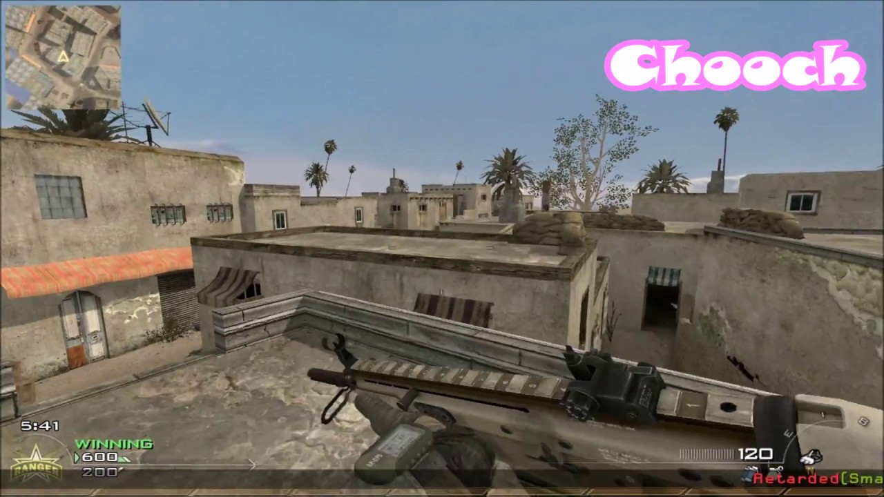 5 Custom Maps from Other CODs in MW2/IW4x