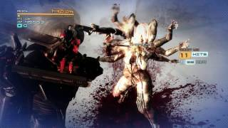 Metal Gear Rising - Mistral Boss Fight - Revengeance Difficulty - No Damage - S Rank