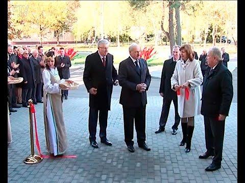 видео: Александр Лукашенко на открытии ПЭТ-центра в РНПЦ онкологии