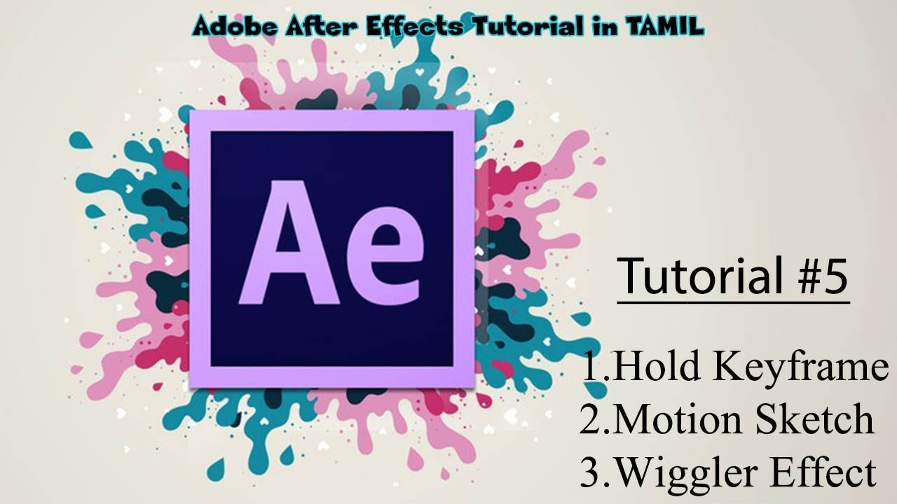 Wiggle effect after effects cc tutorial #1 youtube.