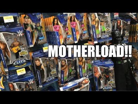 WWE Mattel MOTHERLOAD At WALMART! Elite Series 31 Tshirt Series Wrestling Figures TOY HUNT!