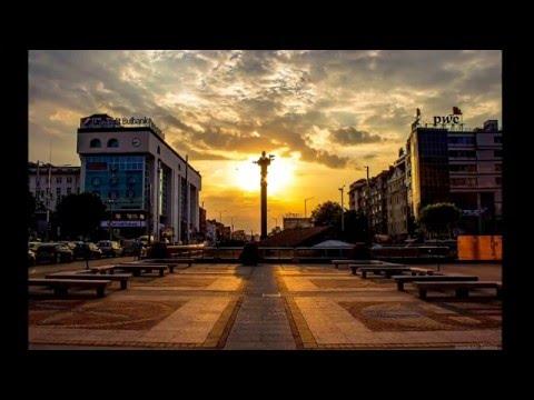 Sunrise, Sofia, Bulgaria, the oldest Capital in Europe