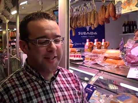 Subaida en el Mercado del Olivar (Palma)
