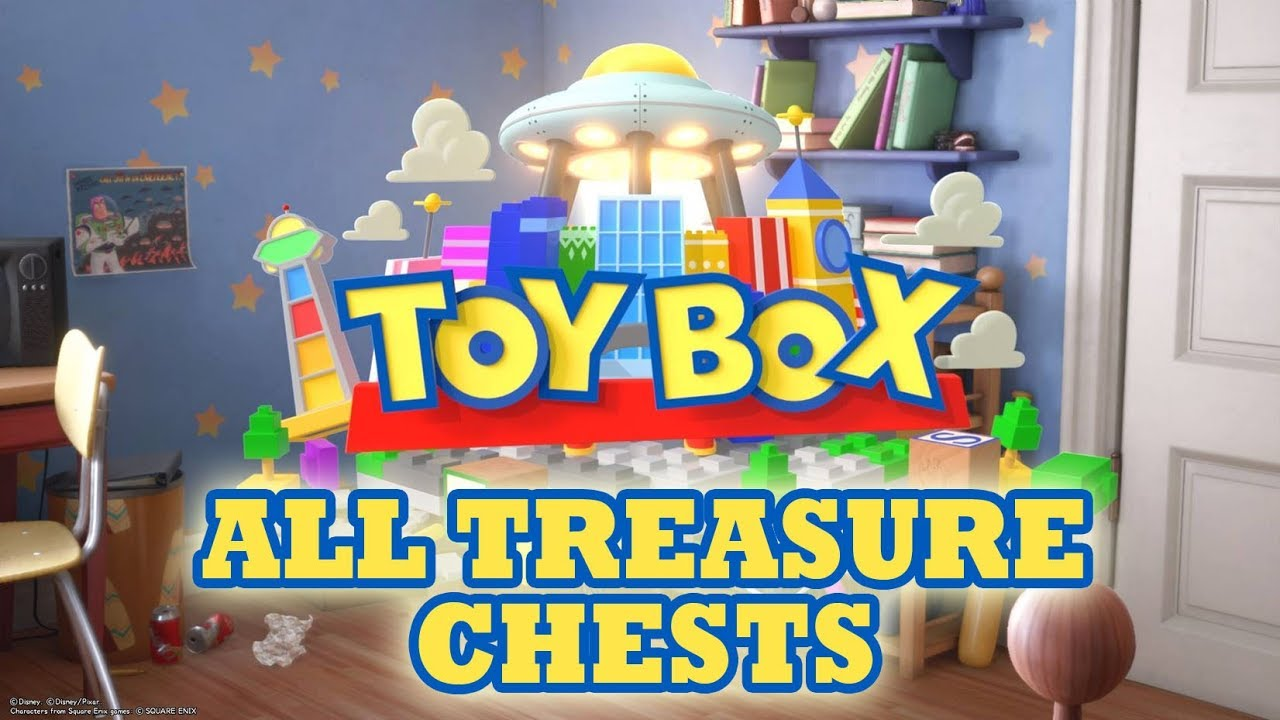 Kingdom Hearts 3 Toybox Treasure Chests All Treasure Chests Youtube