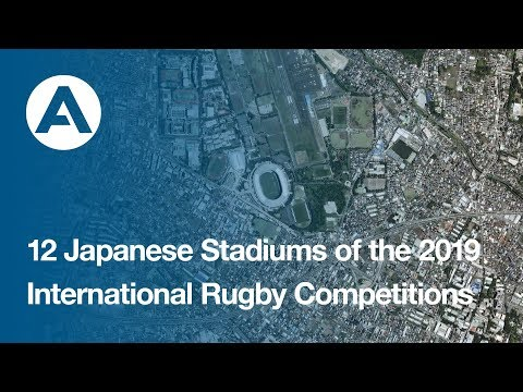 12 Japanese Stadiums of the 2019 International Rugby Competitions