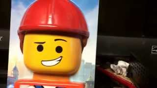 3D Emmet Head and Young Vitruvius Minifigure.