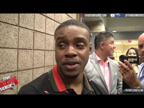 Errol Spence Jr talks fighting Canelo, Keith Thurman, Pacquiao and Terence Crawford