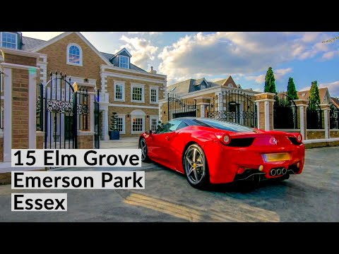 UK Luxury property at 15 Elm Grove, Emerson Park, Essex - step inside - FJcam Productions
