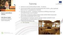Espoon osahankkeen tuloksia, Hilla-Maaria Sipilä, projektisuunnittelija, Espoon kaupunki
