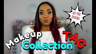 ❤ The Makeup COLLECTION Tag ❤ How BIG is it REALLY? Love it? Hate it?