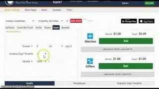 Trading Strategy Twin Figures Digit Match Binary Volatility 50