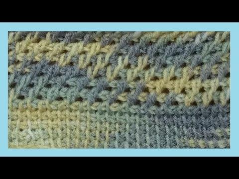 Punto Rete Alluncinetto Tunisino Crochet Tunecino Youtube