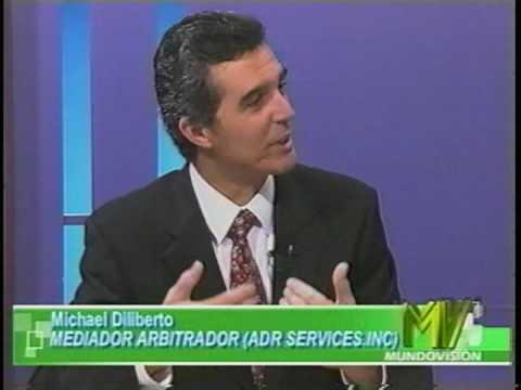 Michael Diliberto, Esq., Los Angeles Mediator: Interviewed on Ecotel Televisión, Ecuador