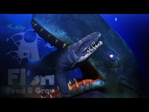 Feed And Grow Fish - IT MET THE NEW SPERM WHALE.. - Mosa & New Boss! - Giant Update, New Creatures!