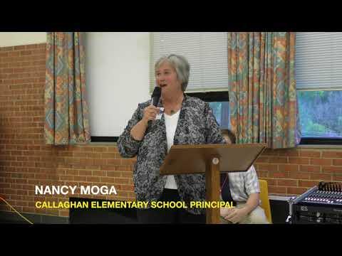 Callaghan Elementary School Principal Welcomes School Board