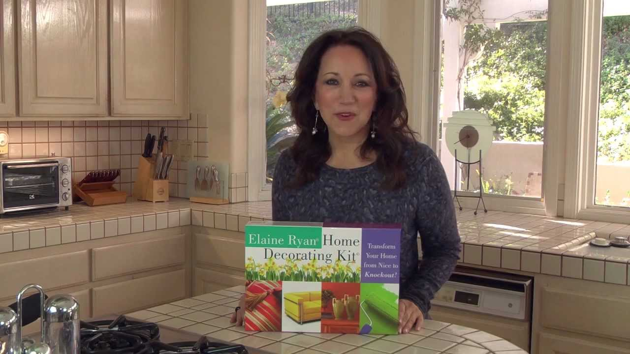 Elaine Ryan Home Decorating Kit 1 Youtube