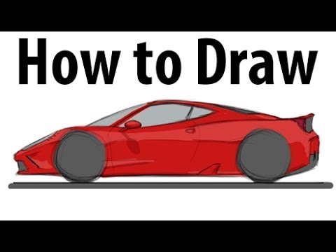 how to draw a ferrari 458 speciale sketch it quick. Cars Review. Best American Auto & Cars Review