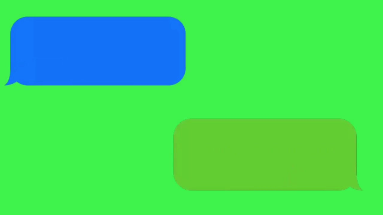 Text Messages Are Green