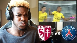 NEYMAR & MBAPPE VS METZ - THE MOST EXPENSIVE DUO IN FOOTBALL (08/09/2017) ⚽🔥 | Reaction