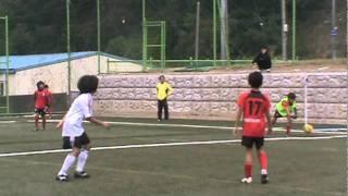 2011 MBC꿈나무축구 키즈리그 U-10 골클럽vs포항이성천(본선2경기)후반