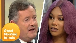 Munroe Bergdorf Clashes With Piers in Heated Debate on Gender Fluidity | Good Morning Britain
