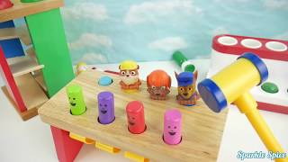 Pop up pals toys teach colors and counting