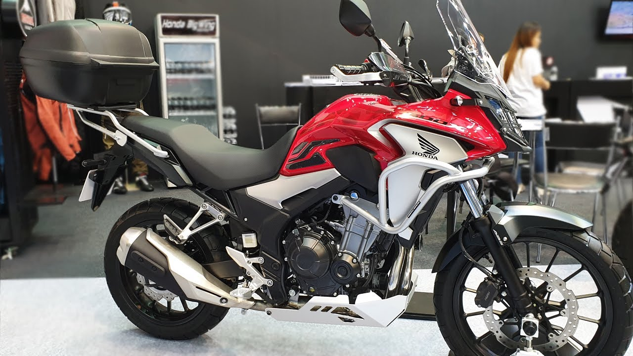 Honda Cb 500x Born Traveler Edition Youtube