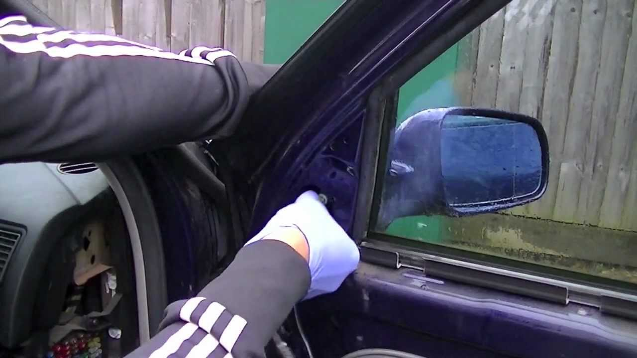 Vw Golf Mk4 Door Mirror Removal 96 06 Simple Easy Steps