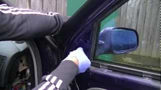 VW Golf Mk4 Door Mirror Removal 96-06 (Simple Easy Steps)