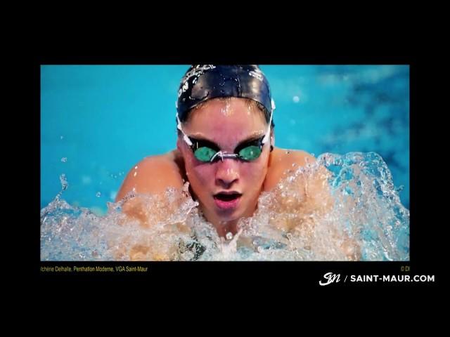 """Vidéo """"FIERS DE NOS SPORTIFS""""  Exposition photos    au Centre Sportif Brossolette"""