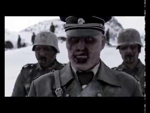 Зомби-Фашисты против трёх бойцов из норвегии!!! ЖЕСТЬ!!!!