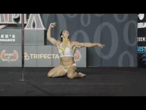 Stairway to Heaven Pole Dance - Rafaela Montanaro: OG Pole at Olympia, 1st Place (2019)