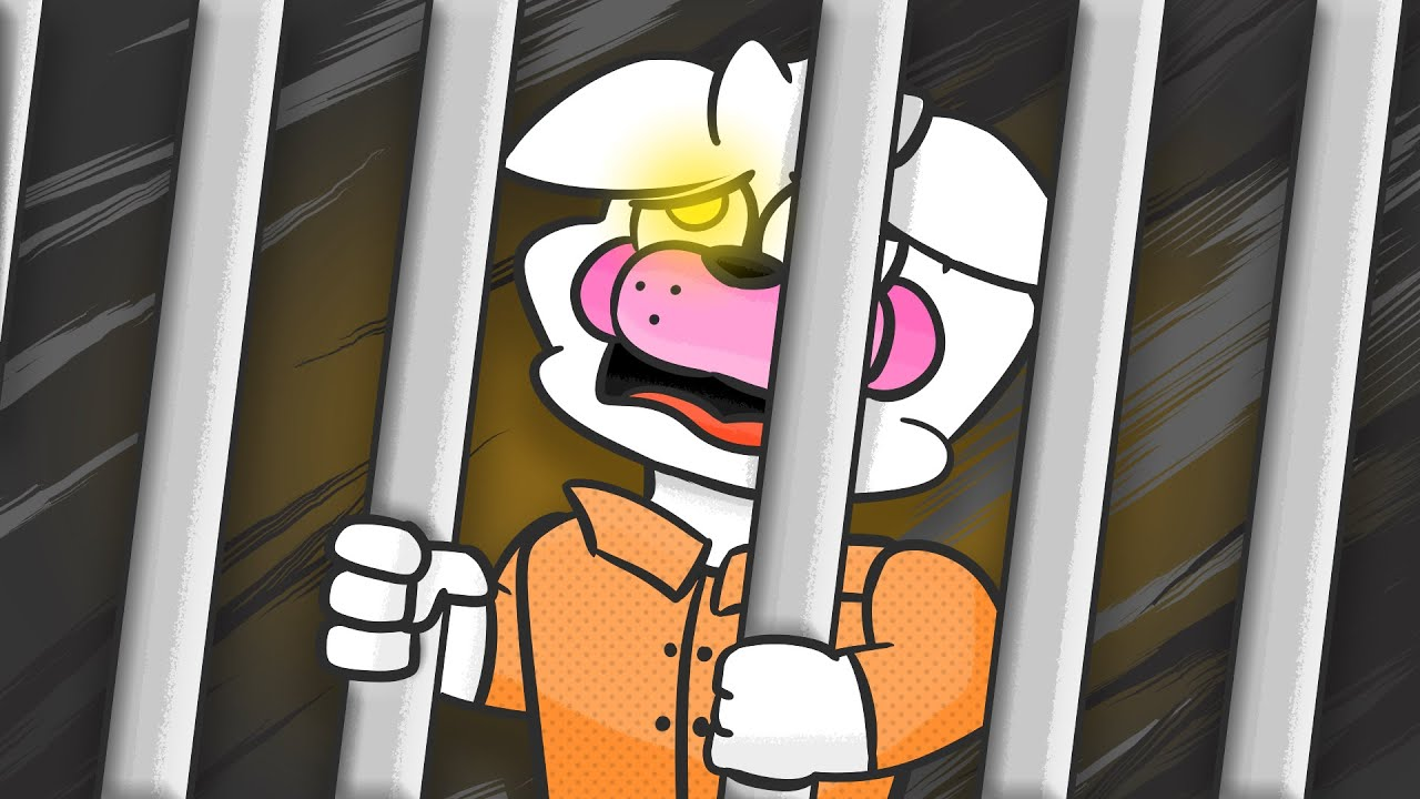 Minecraft Fnaf Funtime Foxy Goes To Jail (Minecraft Roleplay)
