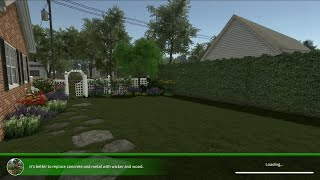 House Flipper: Garden Flipper DLC: Quick Look